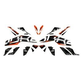 KTM STYLE GRAPHICS KIT 125/390 DUKE 2017 ON