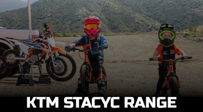 KTM FACTORY REPLICA STACYC RANGE