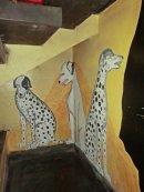 Hallway murals
