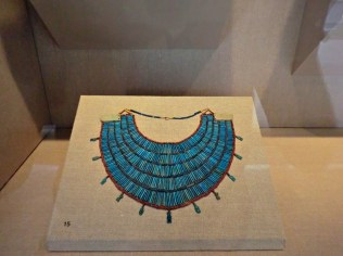 Broad collar necklace (650-30 BC)