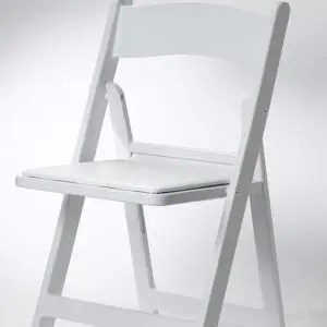 White/Black Garden Chairs