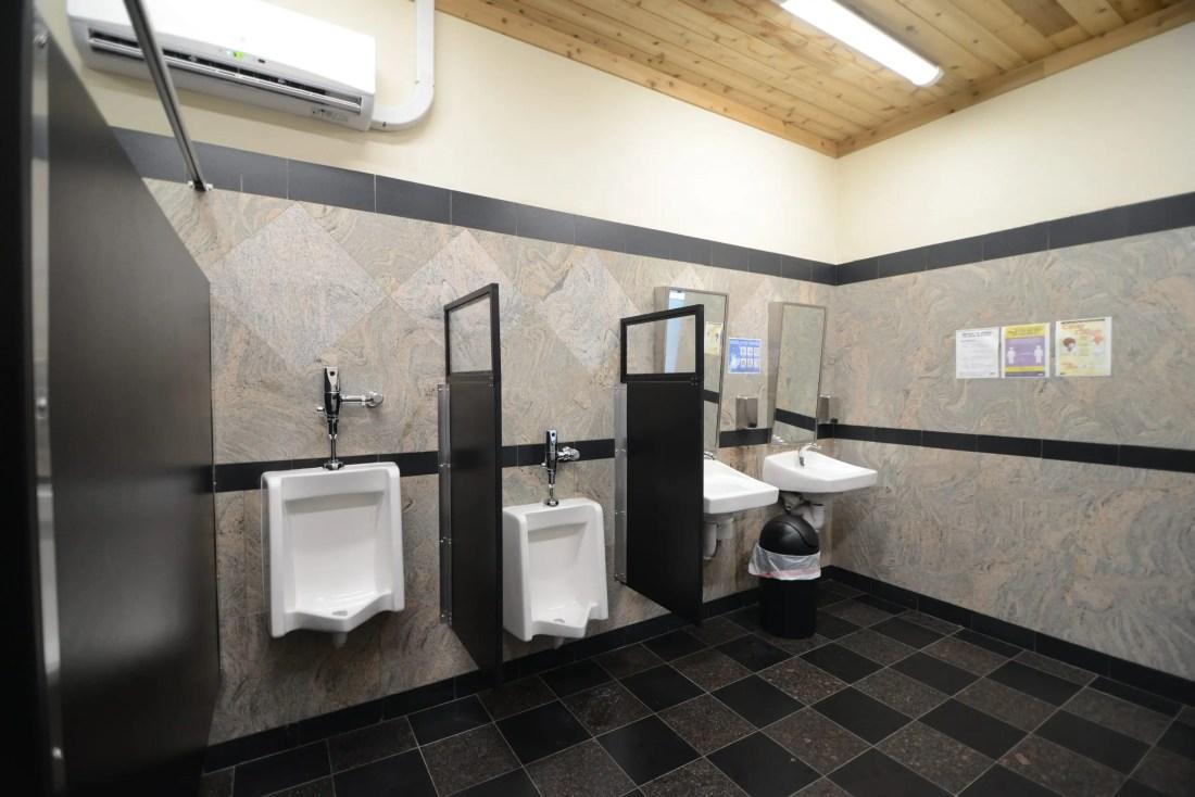 urinal sneeze guard dividers