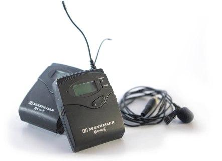 Sennheiser G3 Wireless Lavalier EK 100 G3 Bodypack Receiver SK 100 G3 Bodypack Transmitter