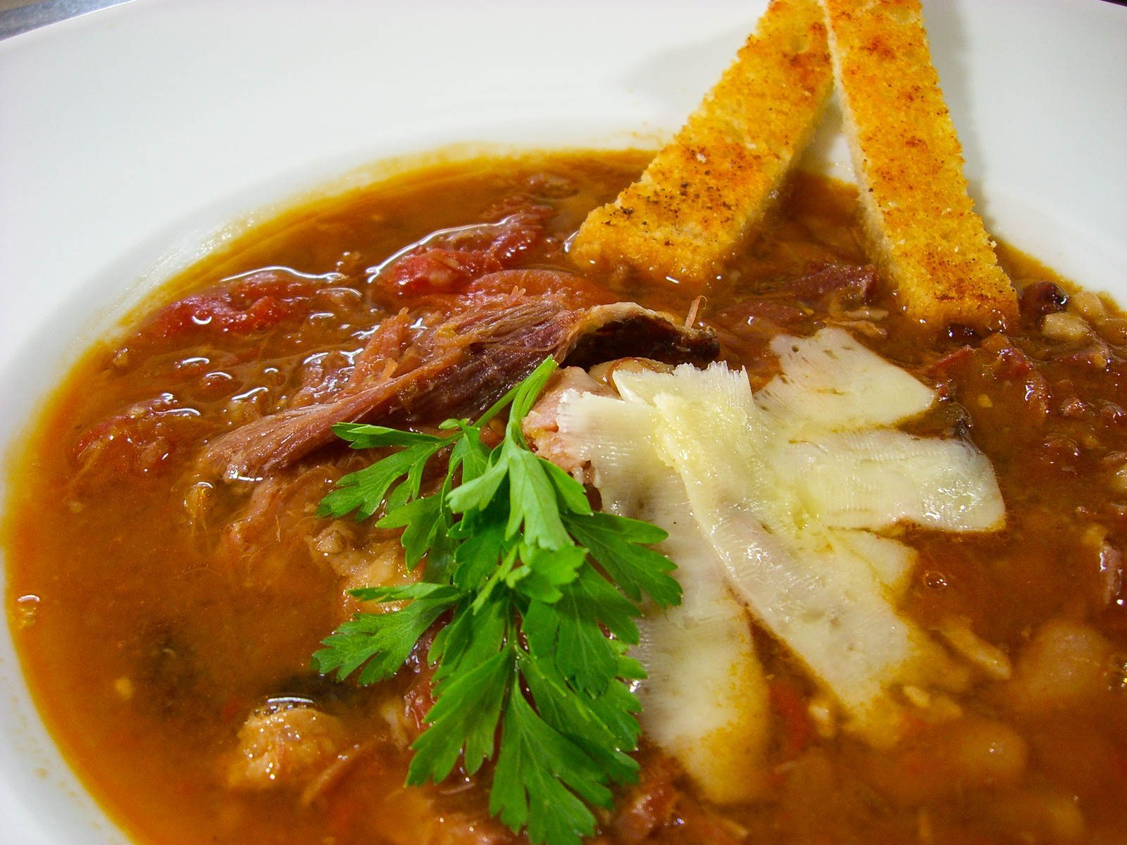 Honeybaked Ham And Bean Soup Red Meat Lover