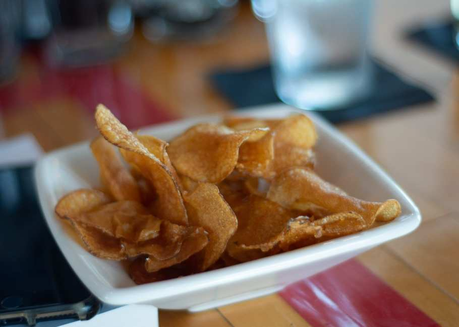 homemade chips recipe