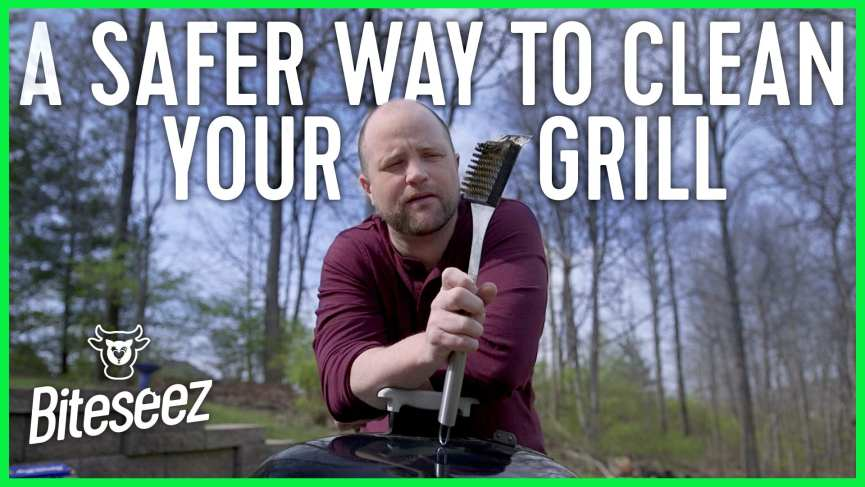 There is a better way to clean your grill