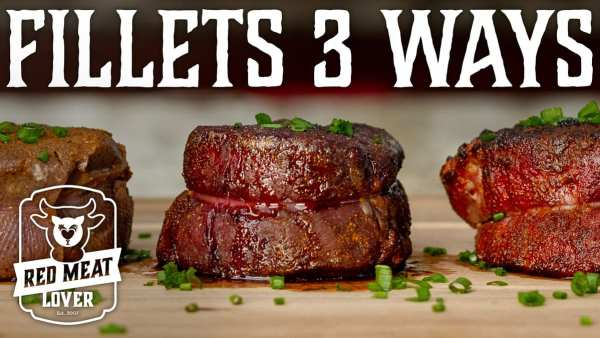 filets three ways