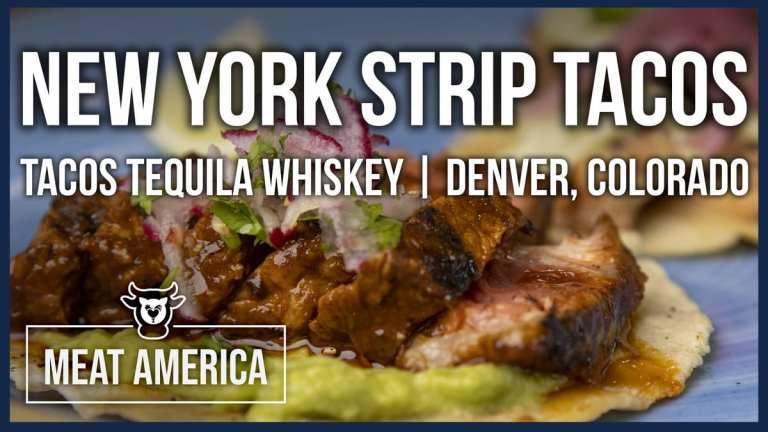 strip steak tacos