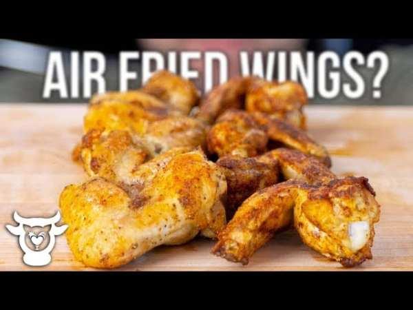 air fried wings
