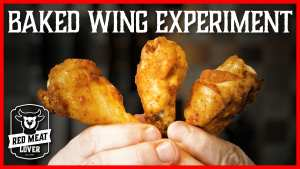 baked wing experiment