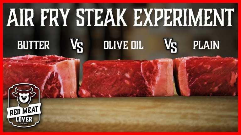 air fry steak experiment