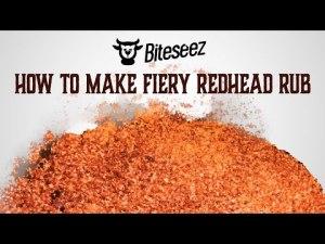 fiery red head rub