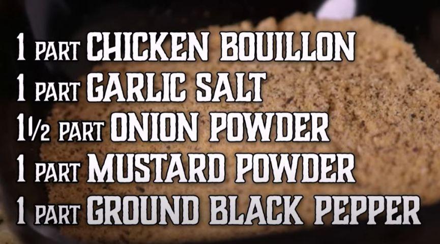 all purpose chicken dry rub