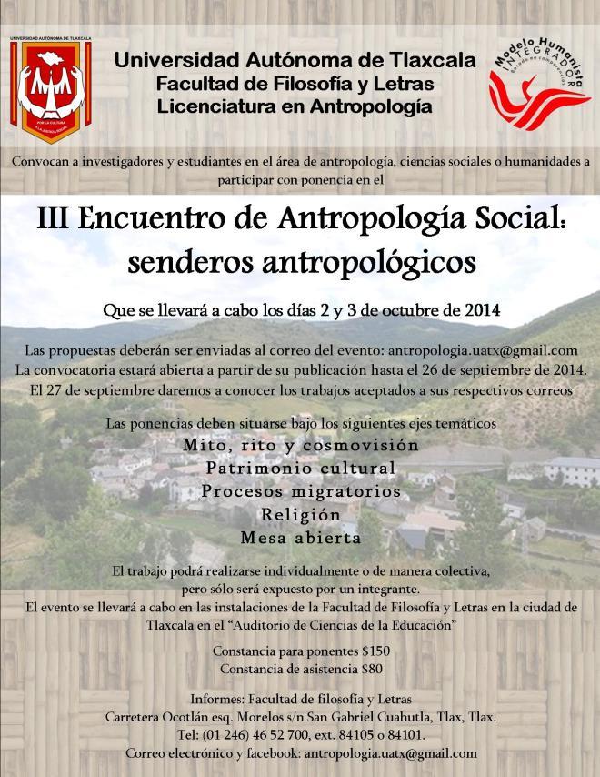 convocatoria antropología