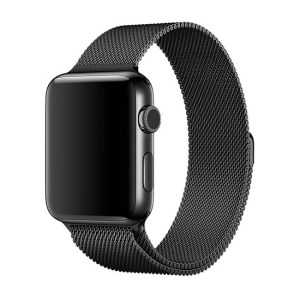 curea metalica apple watch 4 neagra