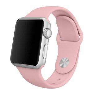 curea roz apple watch din silicon