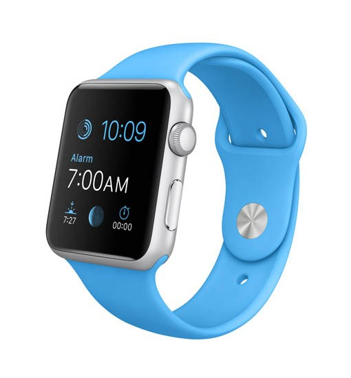 curea albastra apple watch