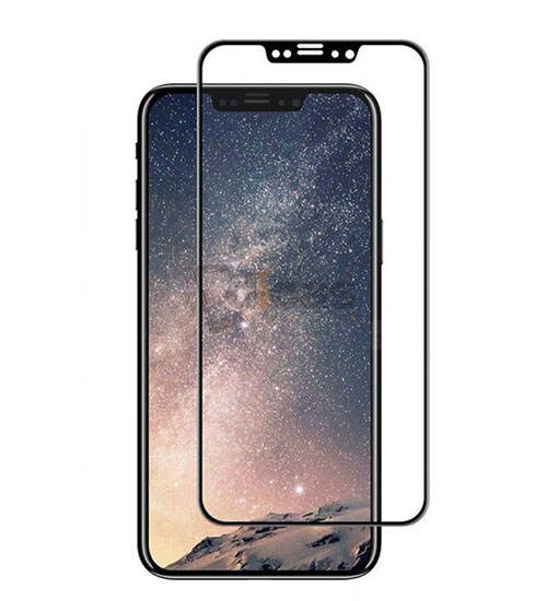 folie completa apple iphone x din sticla securizata