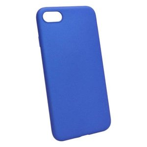 husa silicon albastra iphone 6 6s plus