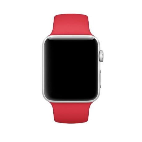 curea silicon rosu apple watch