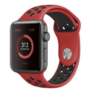 bratara silicon rosu sport apple watch