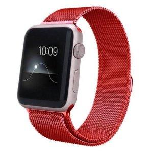 curea milaneza apple watch red