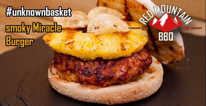 #unknownbasket smoky miracle Burger Redmountain-BBQ