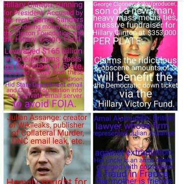 George Aml Hillary Julian