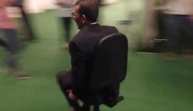 Nasheed chair racing