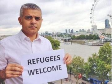 sadiq-khan-refugees-welcome