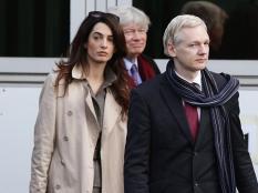 amal-si-julian-assange