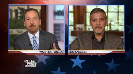 Clooneys Chuck Todd DNC leaks 4