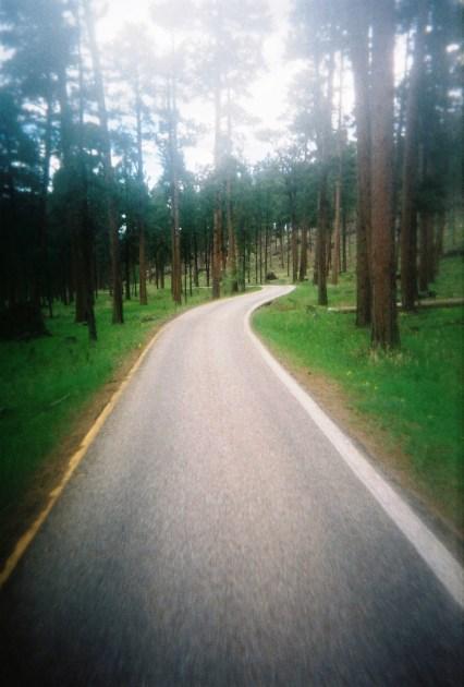 Awesome single lane roads