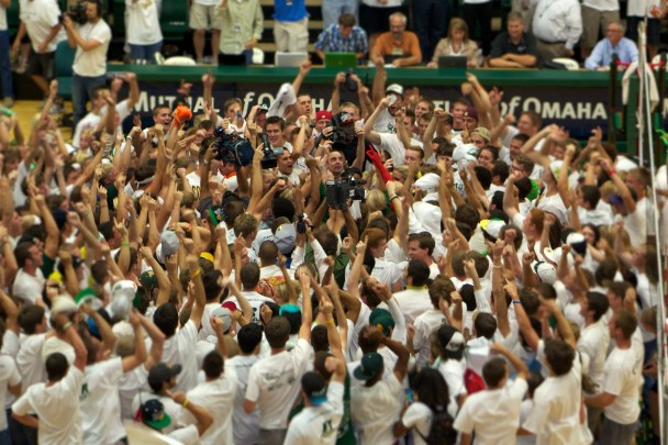 #15 CSU defeats #5 Nebraska in Volleyball!