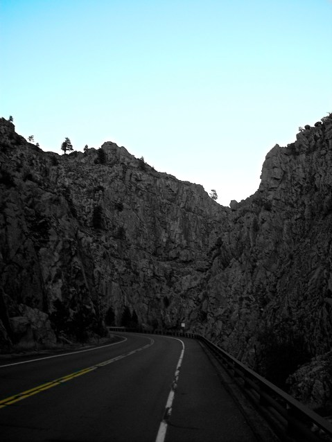 """On my ride home from Estes Park...""""Limited Colors"""" I call it."""