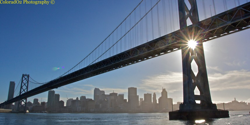 Oakland/San Fran Bridge!
