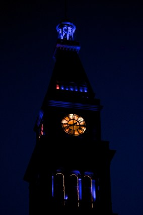 Tower Clock in Denver