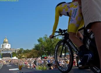 Levi Leipheimer before his TT start Sunday!
