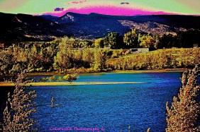 SUP (Stand Up Paddleboarder) at Boulder Reservoir.