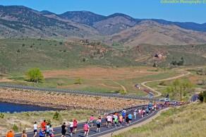 Beautiful Horsetooth Half Marathon