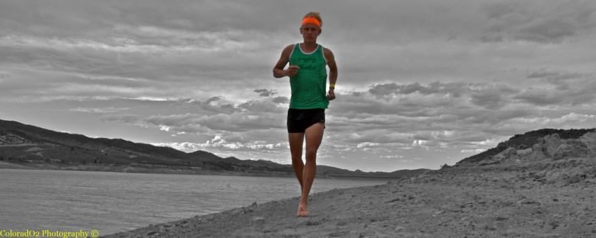 Barefoot Shoreline Run!