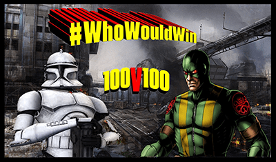 #WhoWouldWin: 100 Clone Troopers vs 100 Hydra Soldiers