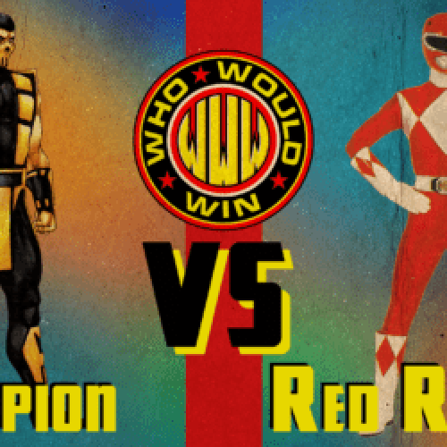 The OG Red Power Ranger vs Scorpion