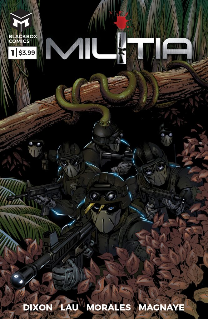 Review: Militia #1 (BlackBox Comics)