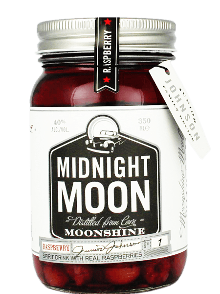 Midnight Moon Raspberry Redneck Moonshine Whisky