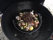 barbecue smokers, dutch oven, outdoor cooking redneck style, schmorbraten