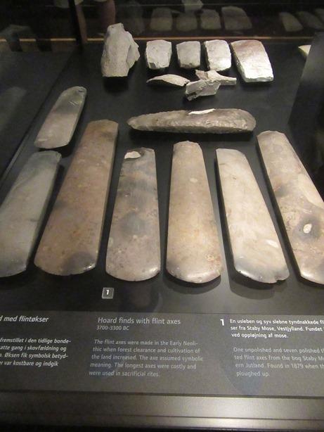 Flint axes