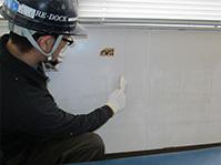 自動式低圧エポキシ樹脂注入工法 下地ケレン清掃