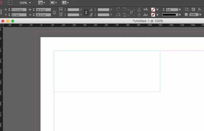 Excel dosyasını InDesign'a aktarma: metin çerçevesini oluşturma