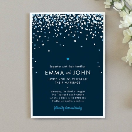 Star Inivitation From 2 Project Pretty At Notonthehighstreet